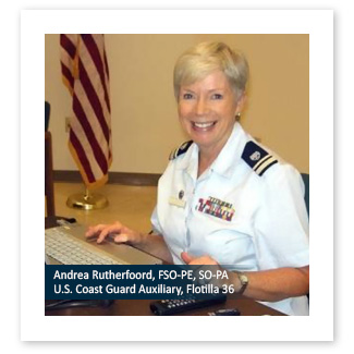 Andrea Rutherfoord, FSO-PE, SO-PA