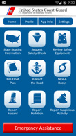 Coast Guard Mobile App